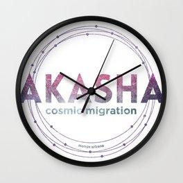 AKASHA Wall Clock