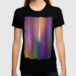 Trendy abstract with light effects T-shirt