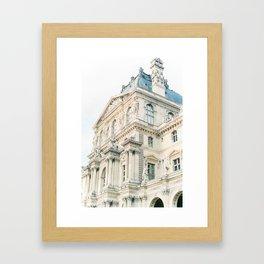 Parisian beauty Framed Art Print