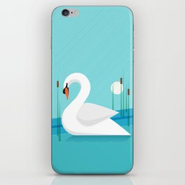 Majestic Swan iPhone Skin
