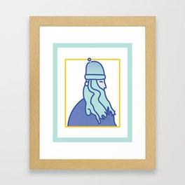 Wiltzar the Wizard Framed Art Print