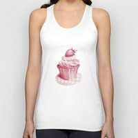 cupcake Tank Tops featuring Cupcake by De Assuncao création