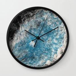 Pearl Blue Mist Wall Clock