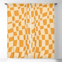 Abstract mosaic tile 136 Blackout Curtain