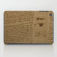 da vinci iPad Cases featuring Da Vinci I by Megan Burgess