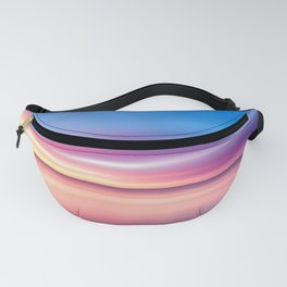 Abstract Sunset V Fanny Pack