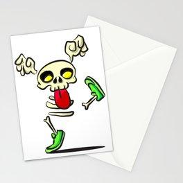 Mocking Skeleton Stationery Cards