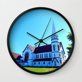 St. Mary's Church front view Wall Clock