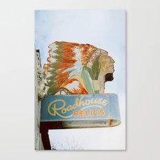 Roadside Relics Canvas Print
