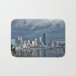 Seattle's shades of gray Bath Mat