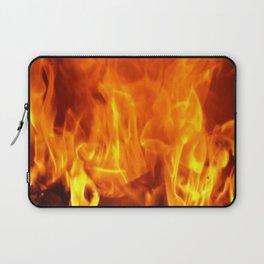 fire pattern home decor Laptop Sleeve