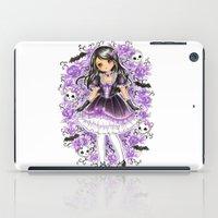 lolita iPad Cases featuring Gothic Lolita by SilverChaim
