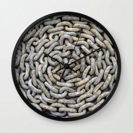 Chain roller - Kettenrolle Wall Clock