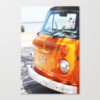hippie Canvas Prints featuring Hippie by Catherine Coons Photography