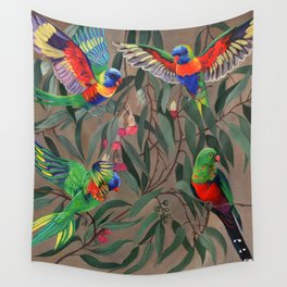 Birds of Paradise. Wall Tapestry