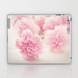 Pale Pink Carnations 2 Laptop & iPad Skin