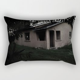 The Old Haunted House Rectangular Pillow