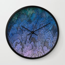 Friends in the Foliage Wall Clock