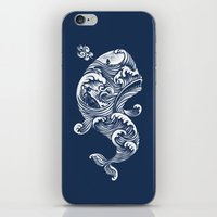 ghost iPhone & iPod Skins featuring The White Whale  by Peter Kramar