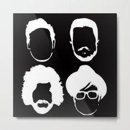 Fob Silhouettes Metal Print