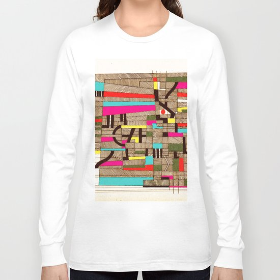 - architecture#02 - Long Sleeve T-shirt