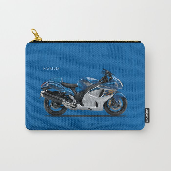 Hayabusa In Blue Carry-All Pouch