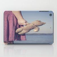 teddy bear iPad Cases featuring Teddy by Maria Heyens