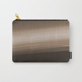 Sepia Brown Ombre Carry-All Pouch
