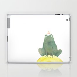 Frog prince Laptop & iPad Skin