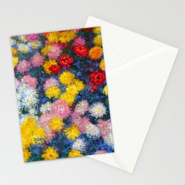 Chrysanthemums - Claude Monet 1897 Stationery Cards