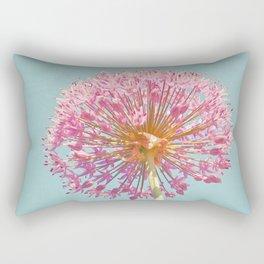 Pink Allium Rectangular Pillow