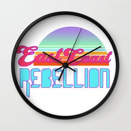 East Coast Rebellion Wall Clock