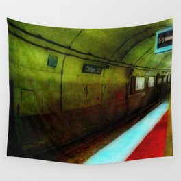 Subway Tunnel Wall Tapestry