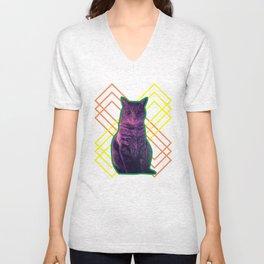 Momo the Cat Unisex V-Neck