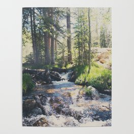 a mountain stream ... Poster