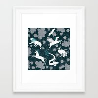 constellation Framed Art Prints featuring  Constellation  by Liluna