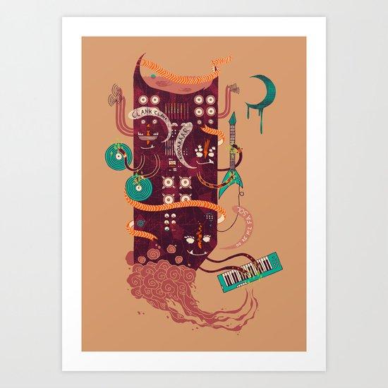 Power Trio Art Print