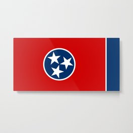 Flag of Tennessee Metal Print