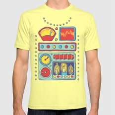 Retrobot Lemon Mens Fitted Tee SMALL