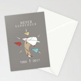 Never Surrender Stationery Cards