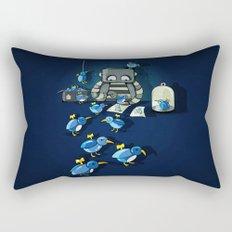 Making Friends Rectangular Pillow