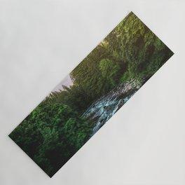 PNW River Run II - Pacific Northwest Nature Photography Yoga Mat