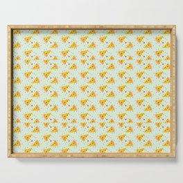 Pizza Pattern | Fast Food Cheese Italian Serving Tray