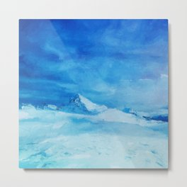Huge and blue Metal Print