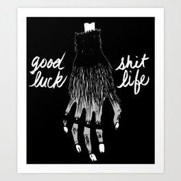 Monkey's Paw Art Print