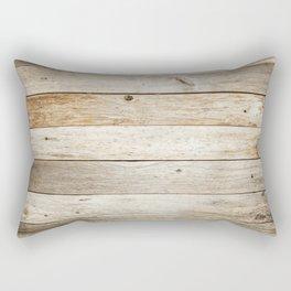 Rustic Barn Board Wood Plank Texture Rectangular Pillow