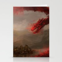 smaug Stationery Cards featuring Smaug 2 by nlmda