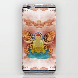 buddherfly #2 iPhone Skin