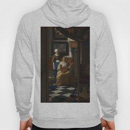 The Love Letter (ca 1669 -1670) by Johannes Vermeer Hoody