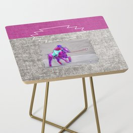 poloplayer grey-mauve Side Table